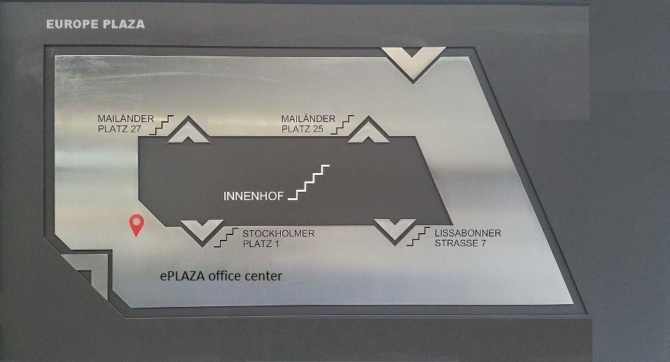Europe Plaza Stuttgart - Verkehrspsychologe BDP, MPU Reinhard Barth - Eingang